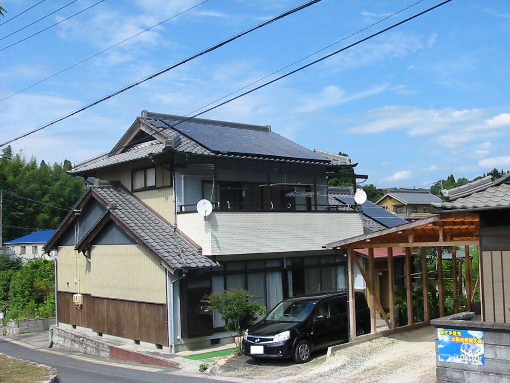 太陽光発電 M様邸1