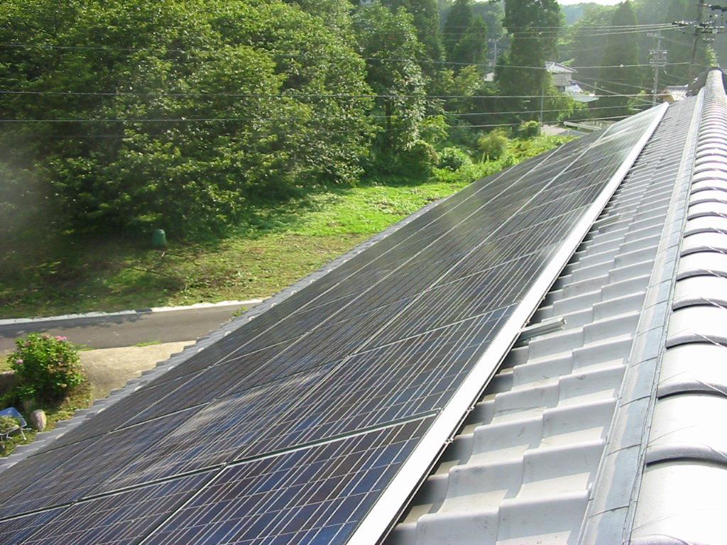 太陽光発電 M様邸2
