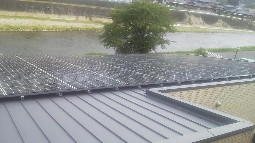 瑞浪市 太陽光発電 施工実績2