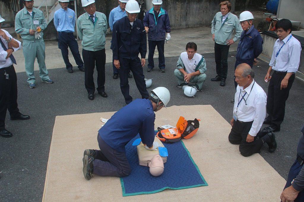 2016年度防災訓練の様子4