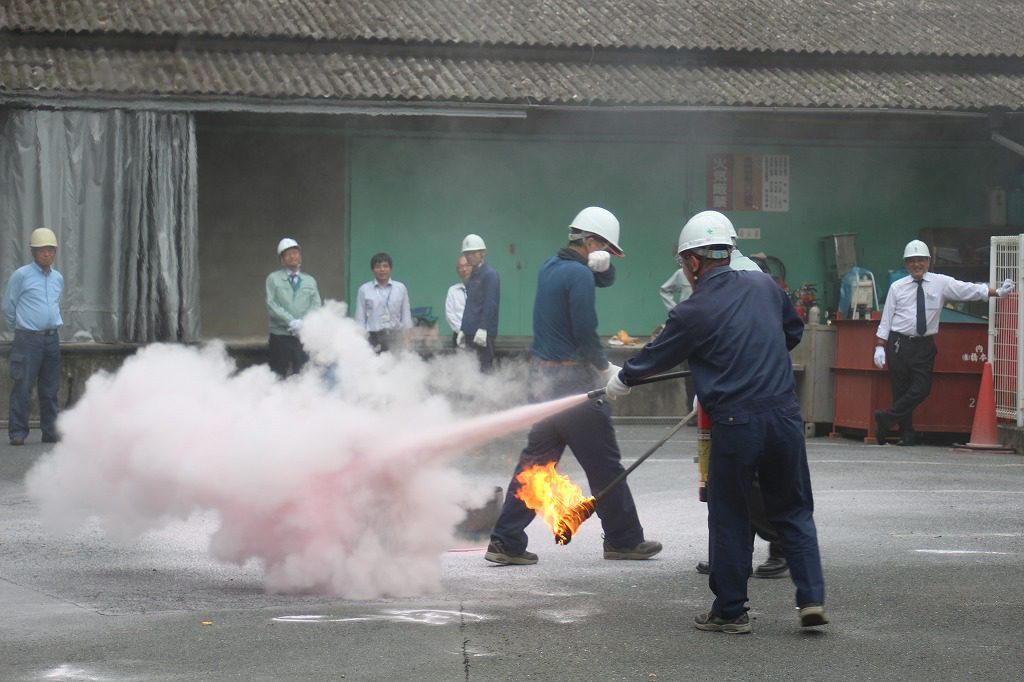2016年度防災訓練の様子5