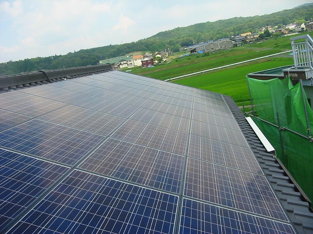土岐市に太陽光発電(N様邸 6.8kwシステム)を施工