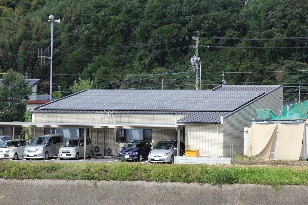 瑞浪市 太陽光発電 施工実績3