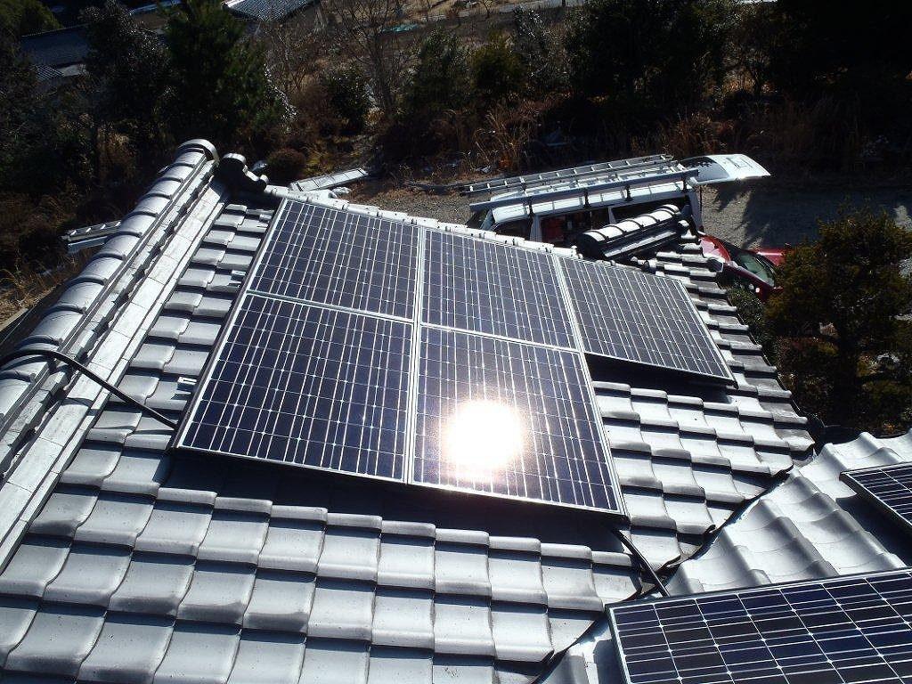 太陽光発電 K様邸2