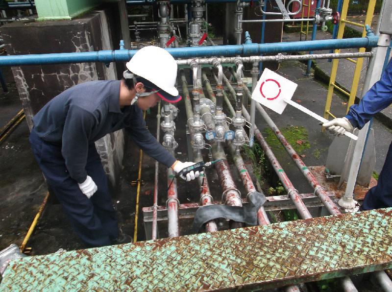 ガス漏れ検知