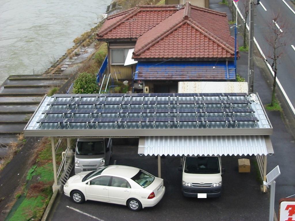瑞浪市に太陽光発電(T社様 5.12kwシステム)を施工