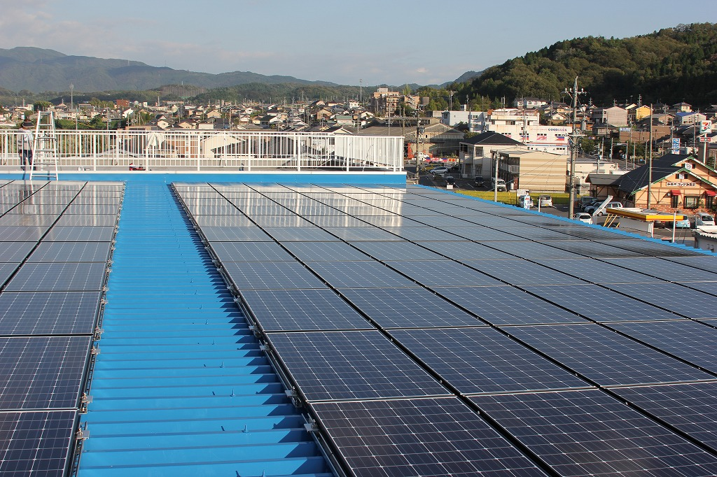 瑞浪市に太陽光発電(N社様オフィス 48.93kwシステム)を施工