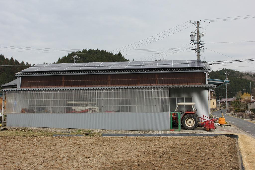 恵那市に太陽光発電(M社様 25.78kwシステム)を施工