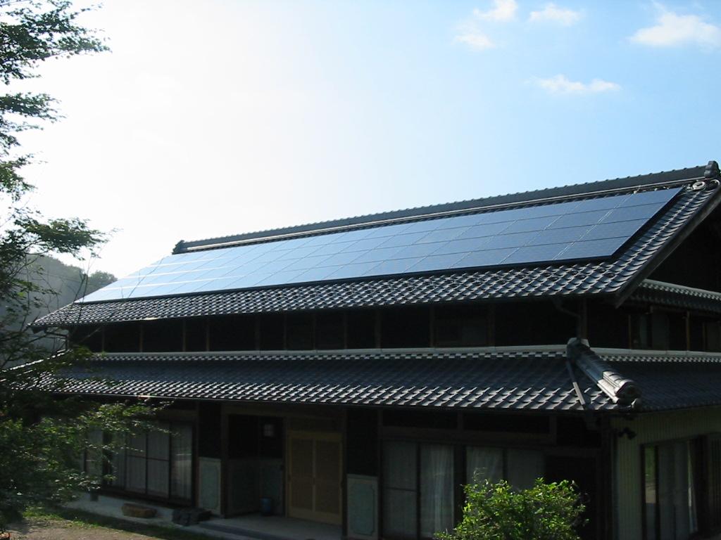 恵那市に太陽光発電(M様邸 9.18kwシステム)を施工